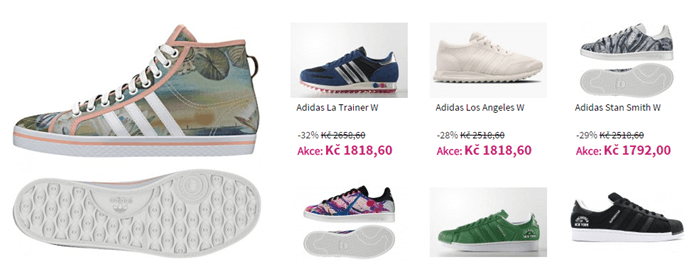 Sleva na boty adidas na shooos.cz