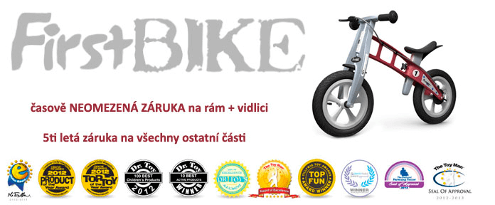 Slevy na dětská kola First Bike