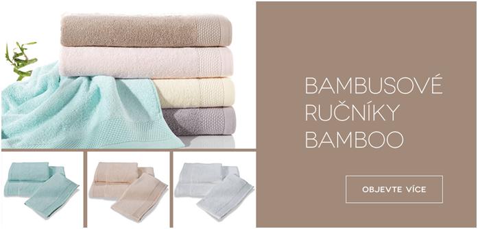 Babusové ručníky levně