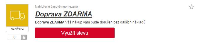 Využití slevy na sony.cz