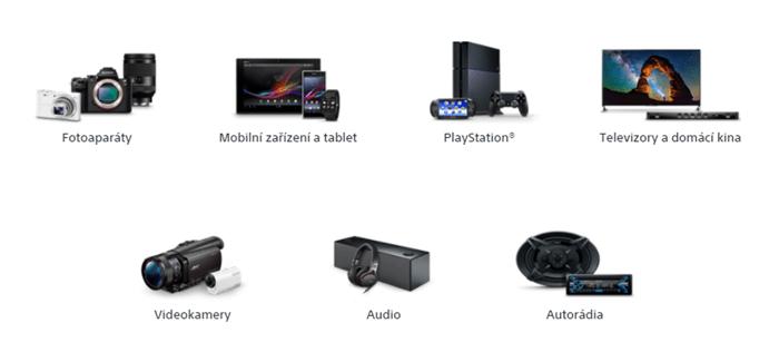 Slevy na elektroniku Sony