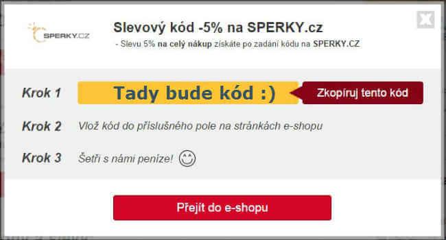 Slevový kupón sperky.cz