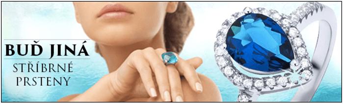 sleva na stříbrné prsteny