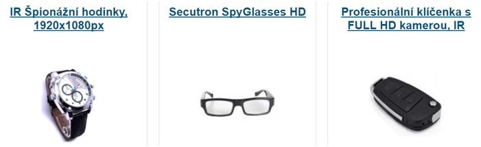 Hodinky a brýle s kamerou za nízkou cenu
