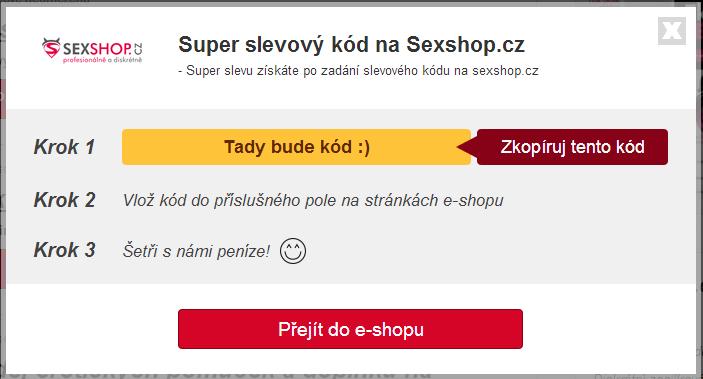 Slevový kupón Sexshop.cz