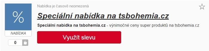 Výběr slevy tsbohemia.cz