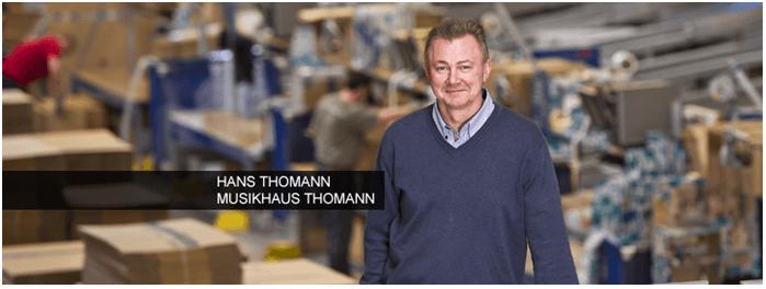 Hudební dům Thomann - slevy a akční nabídky