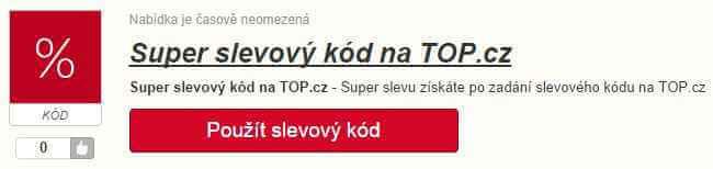 Slevový kód topshop.cz
