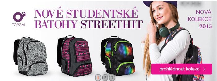 Studentké batohy street.hit