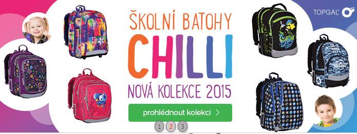Slevy na batohy Chilli 2015
