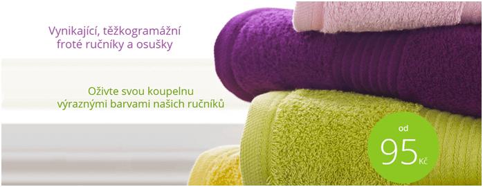 Sleva na froté ručníky na toprosteradla.cz