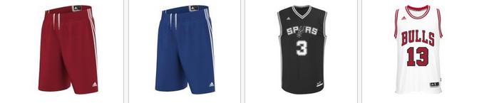 Slevy na basketbalové oblečení