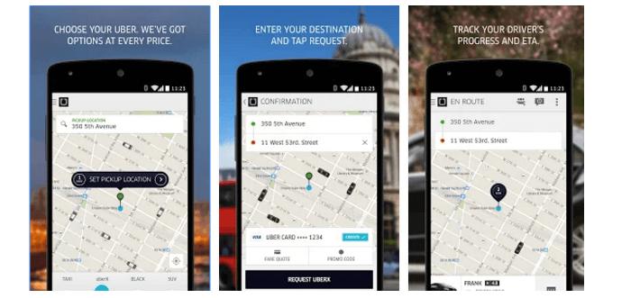 Sleva v aplikaci Uber