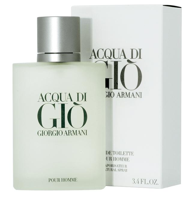 Toaletní voda Acqua di Gio od Giorgia Armaniho. Můžete ji pořídit na Vltava.cz