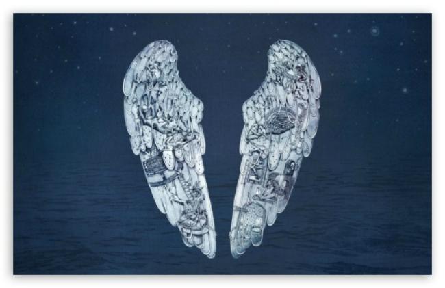 Část uměleckého obalu alba Ghost Stories vytvořeného Milou Fürstovou