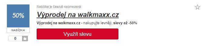 Slevový kód walkmaxxx.cz