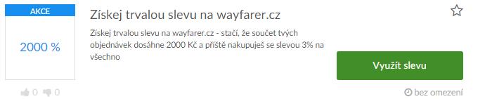 využití slevy wayfarer.cz