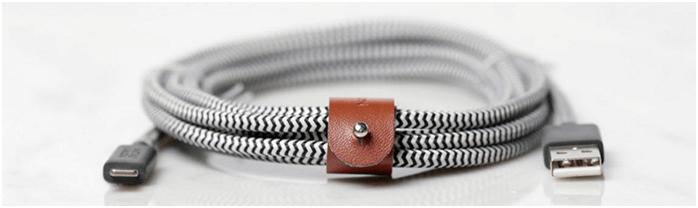 stylový dobíjecí kabel