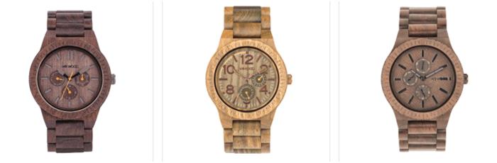 Sleva na dřevění hodinky Wewood