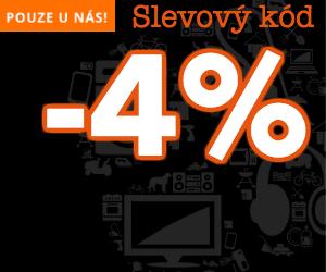 Slevový kód -4% na kasa.cz