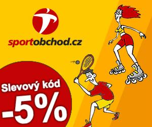Slevový kód -5% na sportobchod.cz