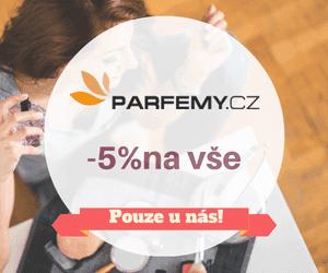 Je tady! Sleva -5% na PARFEMY.cz