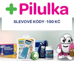 Slevové kódy na pilulka.cz