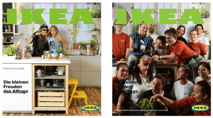 IKEA Katalog und die Produkte der Firma