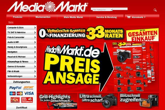 Media Markt Rabatte und Preis Ansage