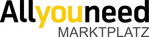 Das Logo von Allyouneed