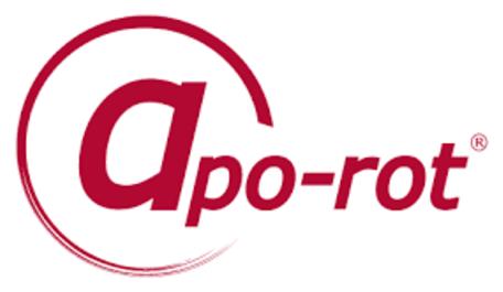Das Logo von apo-rot