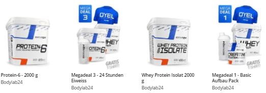 BODYLAB24 Produkte