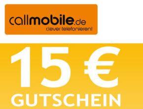 Ein Beispiel callmobile.de Gutschein