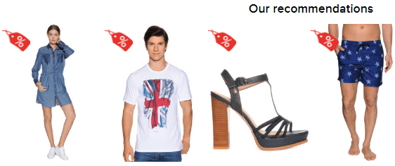 Our Recommendations bei dress-for-less