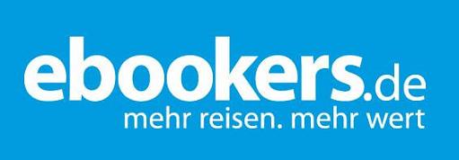 Das Logo von ebookers.de