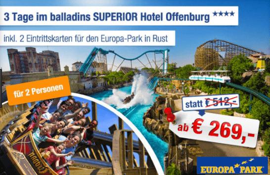 Europa Park Rabatt
