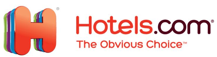 Das Logo von Hotels.com