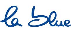 Das Logo von la-blue
