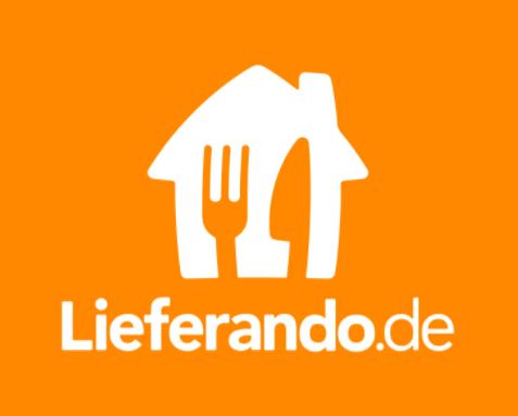 Das Logo von Leferando.de
