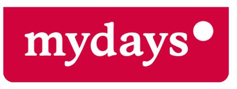 Das Logo von Mydays