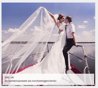 Hochzeitreise mit Mydays