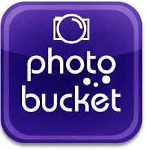 Blauer Fotoaparat