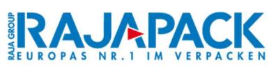 Das Logo von RAJAPACK