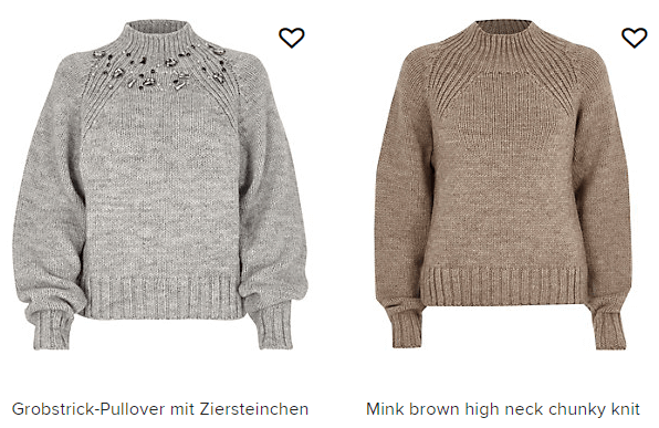 Strickwaren bei RIVER ISLAND