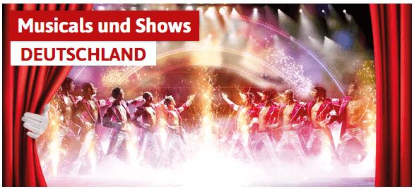 Musical und Shows bei Spar mit! Reisen