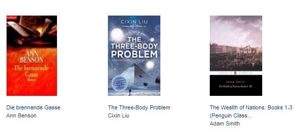 Aktuelle Trend Bücher bei AbeBooks