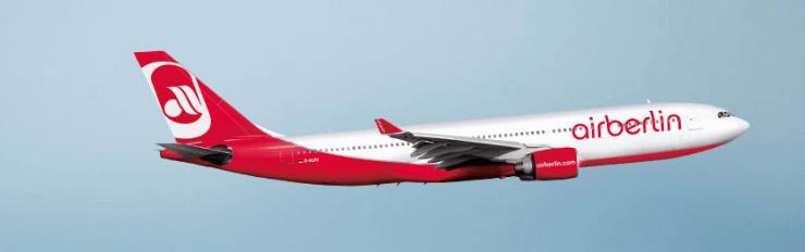 Ein airberlin Flugzeug