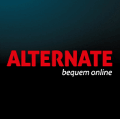 Das Logo der Firma ALTERNATE