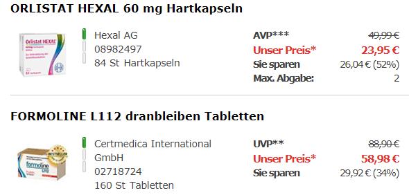 Gewichtsmanagementbei apotal.de