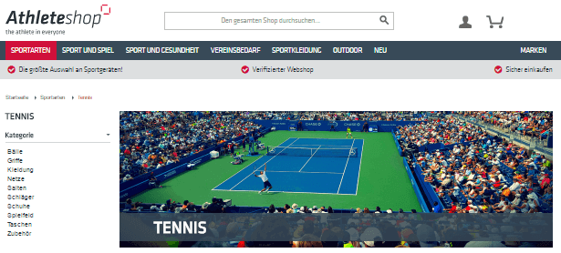 Tennis Zubehör bei Athleteshop
